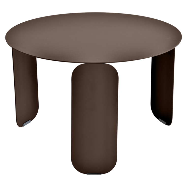 table basse metal, table basse fermob, table basse design, table basse marron