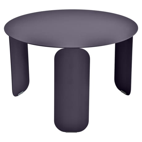 table basse metal, table basse fermob, table basse design, table basse violet
