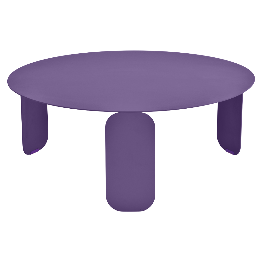 table basse metal, table basse design, table basse fermob, table basse violet