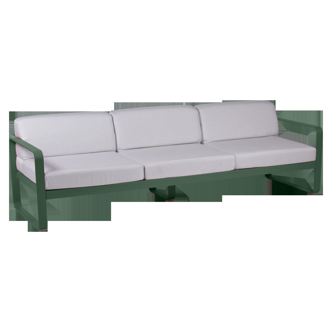 canape de jardin, canape d exterieur, canape fermob, canape metal, canape vert