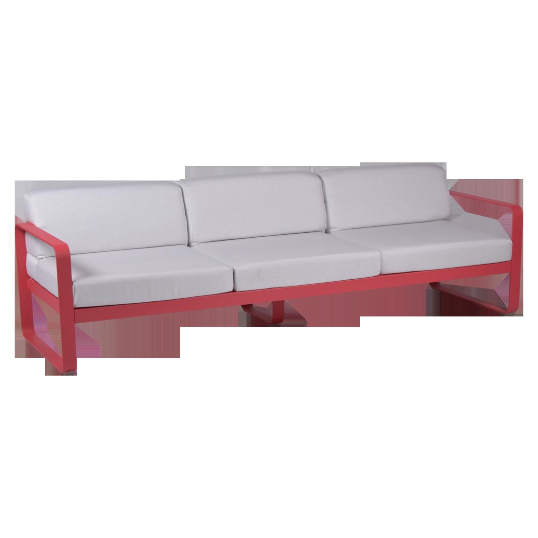 canape de jardin, canape d exterieur, canape fermob, canape metal, canape rose