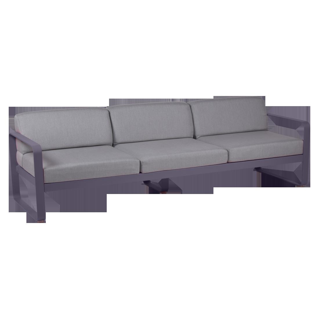 canape de jardin, canape d exterieur, canape fermob, canape metal, canape violet