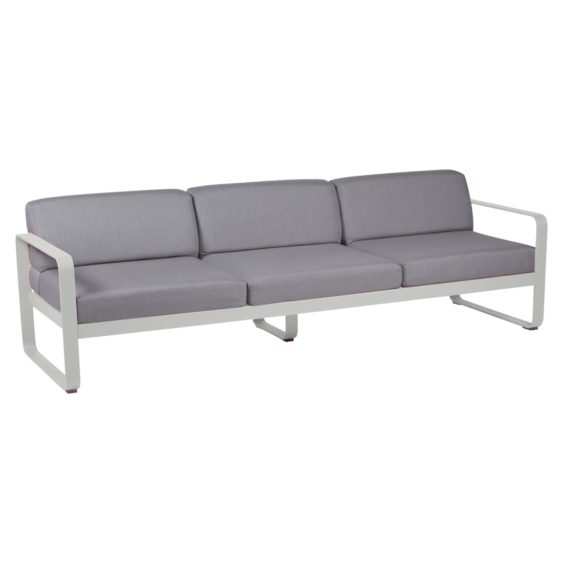 canape de jardin, canape d exterieur, canape fermob, canape metal, canape gris
