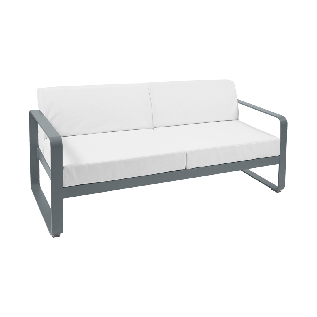 2 Seater Sofa   Off White Cushions