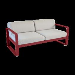 canapé de jardin avec coussin d'extérieur