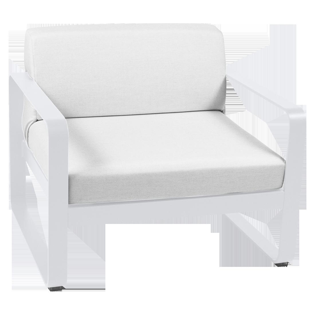 fauteuil de jardin blanc, fauteuil de jardin fermob