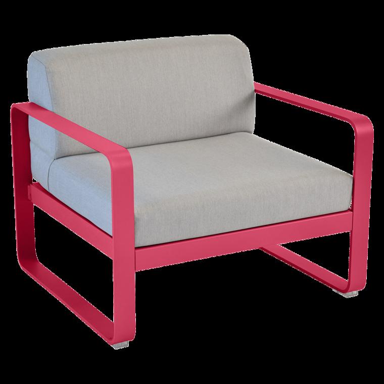 Fauteuil Bellevie, coussins Gris flanelle - fauteuil de jardin pour ...