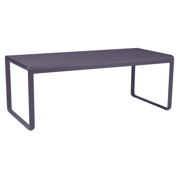 Bellevie table, metal garden table for 8