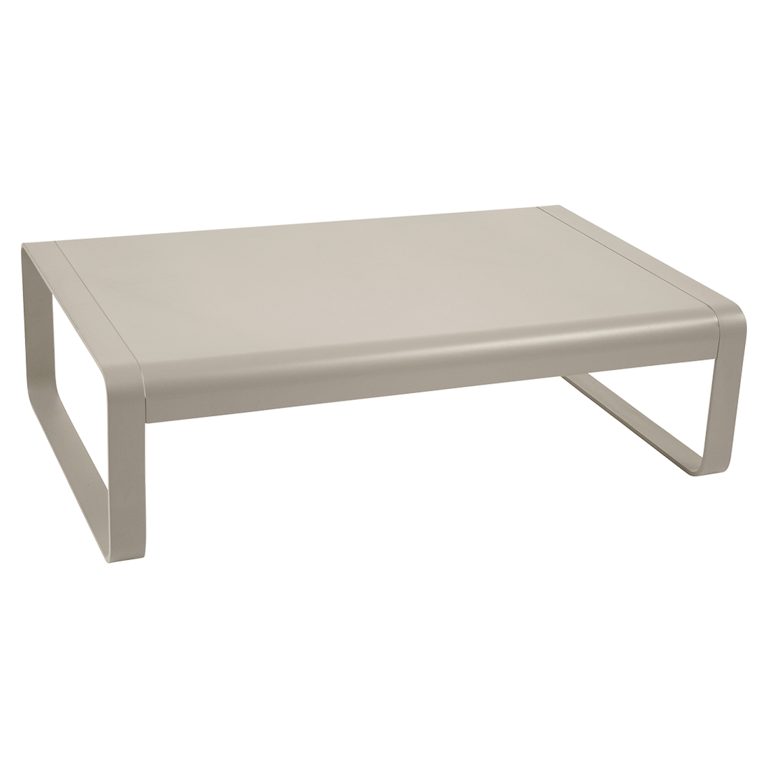 Bellevie low table, metal low table for outdoor living space