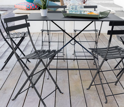 Collection Bistro - Fermob - mobilier de jardin pliant