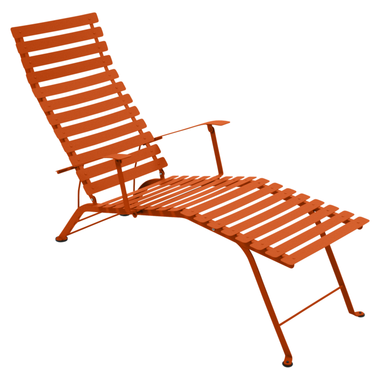 chaise longue bistro - Chaise Orange