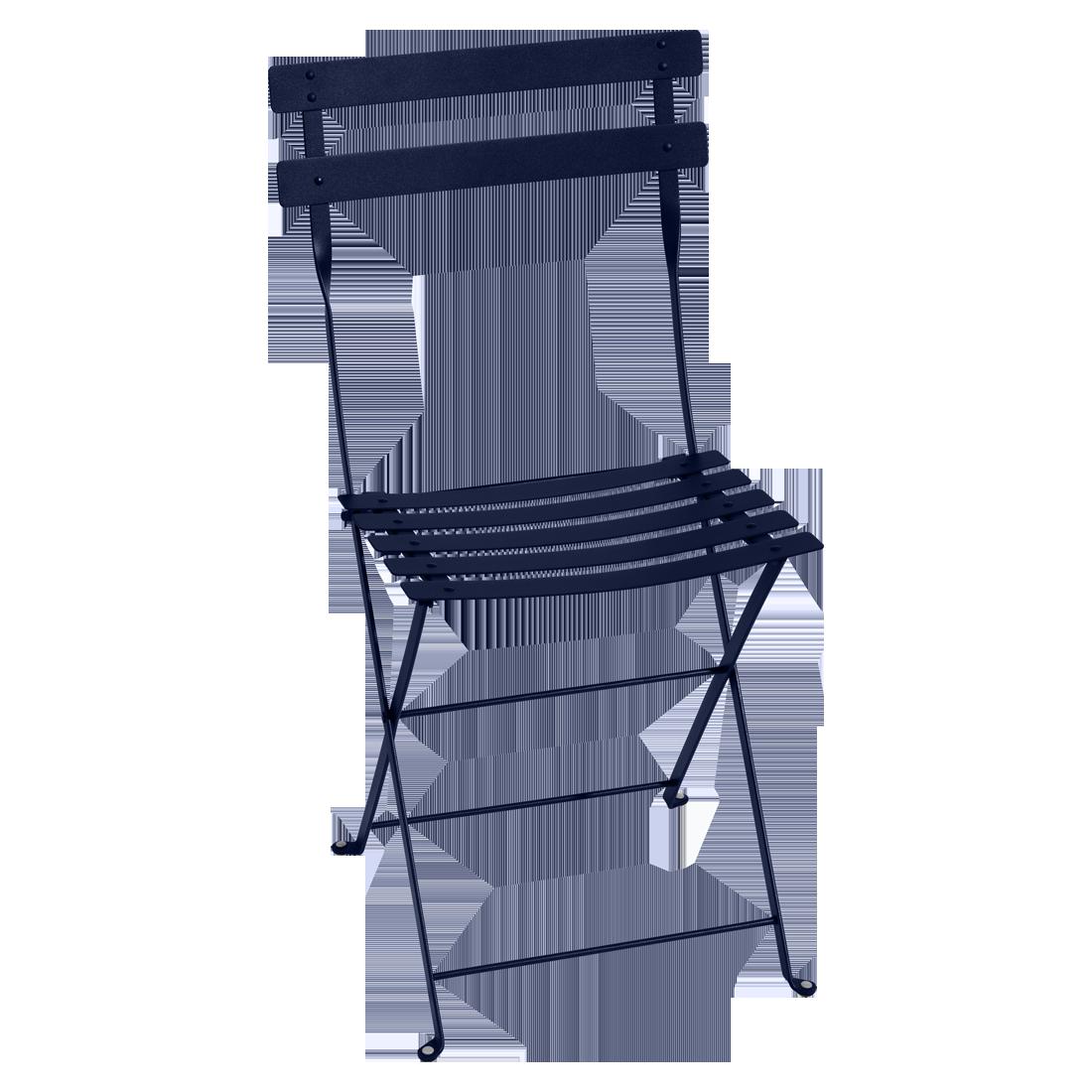 chaise bistro, chaise bistrot, chaise metal pliante, chaise fermob, chaise pliante, chaise de jardin, chaise pliante bleu