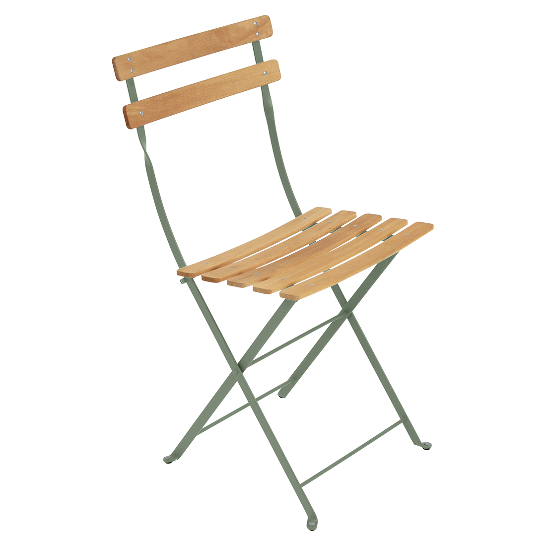 chaise bistro bois et metal