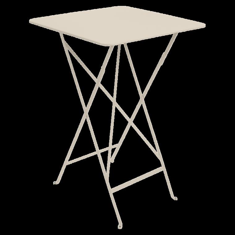 Hoher Tisch Bistro, Gartentisch aus Metall, klappbare ...