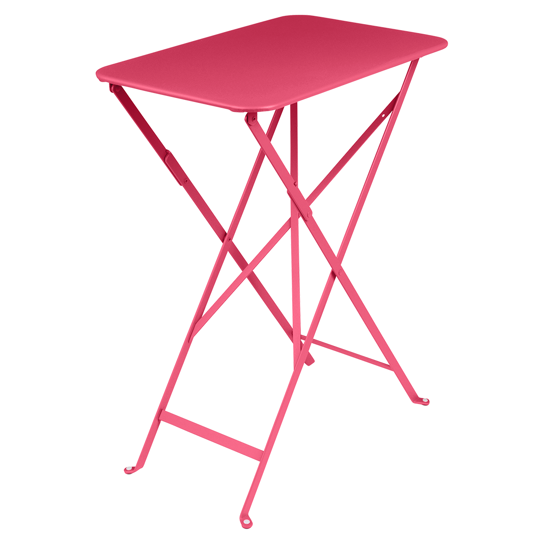 petite table metal, table 2 personnes, table metal beige, petite table fermob