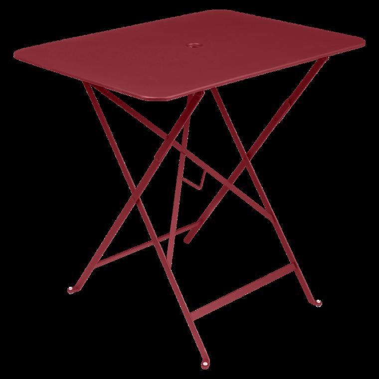 Table Bistro 77x57 cm, table de jardin, table pliante jardin