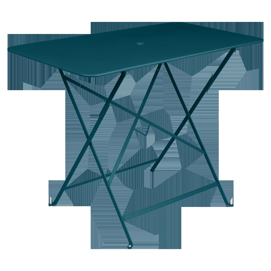 Table 97 x 57 cm bistro bleu acapulco