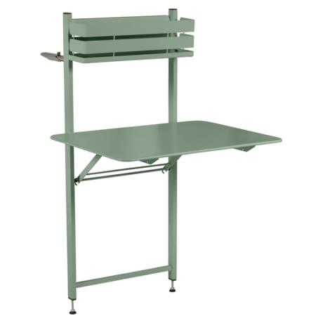 petite table metal, table balcon, table bistro balcon, petite table pliante, table verte