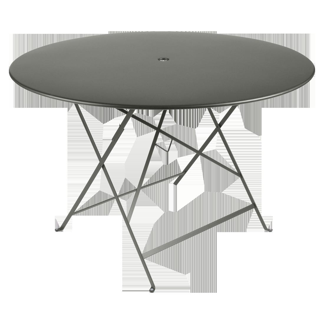 Table Bistro ronde 117 cm, table de jardin, table ronde jardin