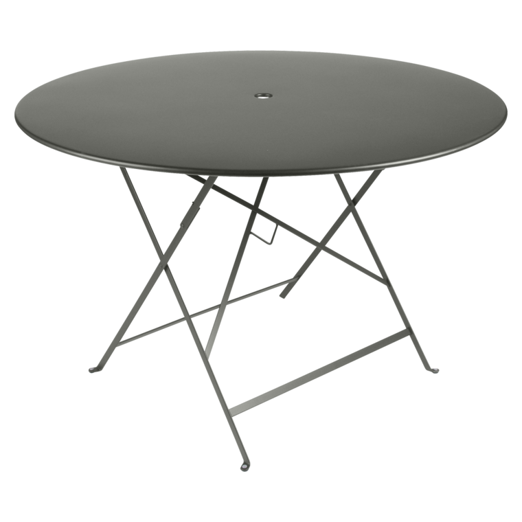 Table Bistro Ronde 117 Cm Table De Jardin Table Ronde Jardin