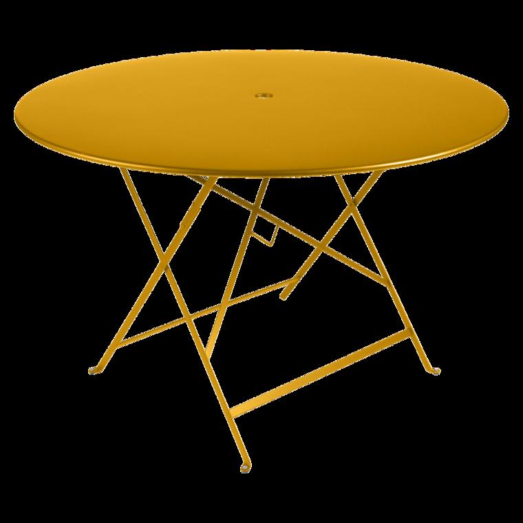 table bistro ronde 117 cm table de jardin table ronde jardin. Black Bedroom Furniture Sets. Home Design Ideas