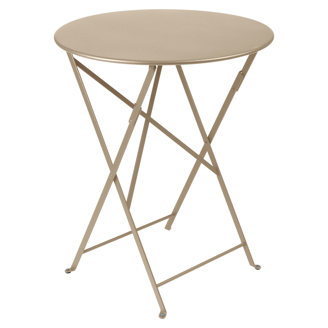 Table Bistro ronde 60 cm, table de jardin, table ronde jardin