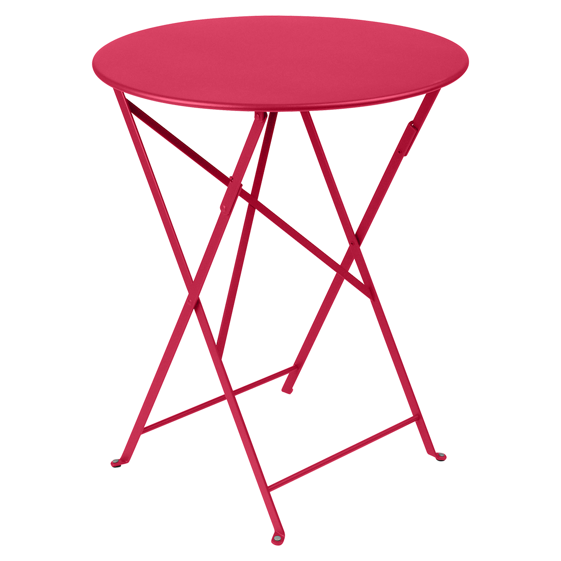 petite table metal, table de jardin fermob, table bistro, petite table pliante, table rose