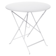 petite table metal, table de jardin fermob, table bistro, petite table pliante, table blanc