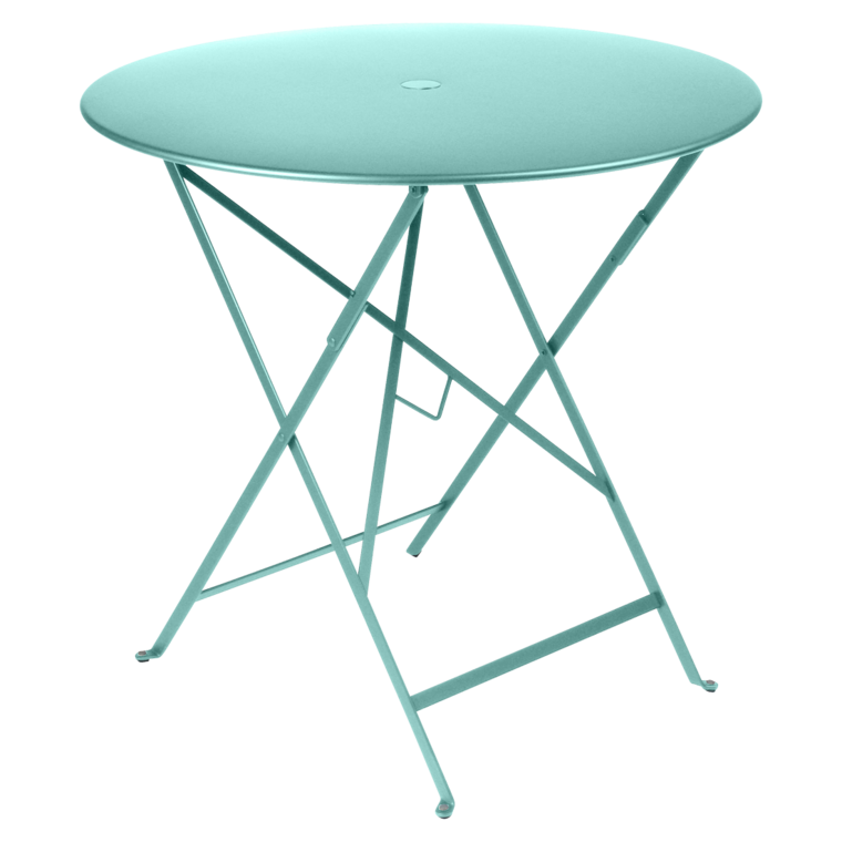 Bistro round table 77 cm metal table outdoor furniture