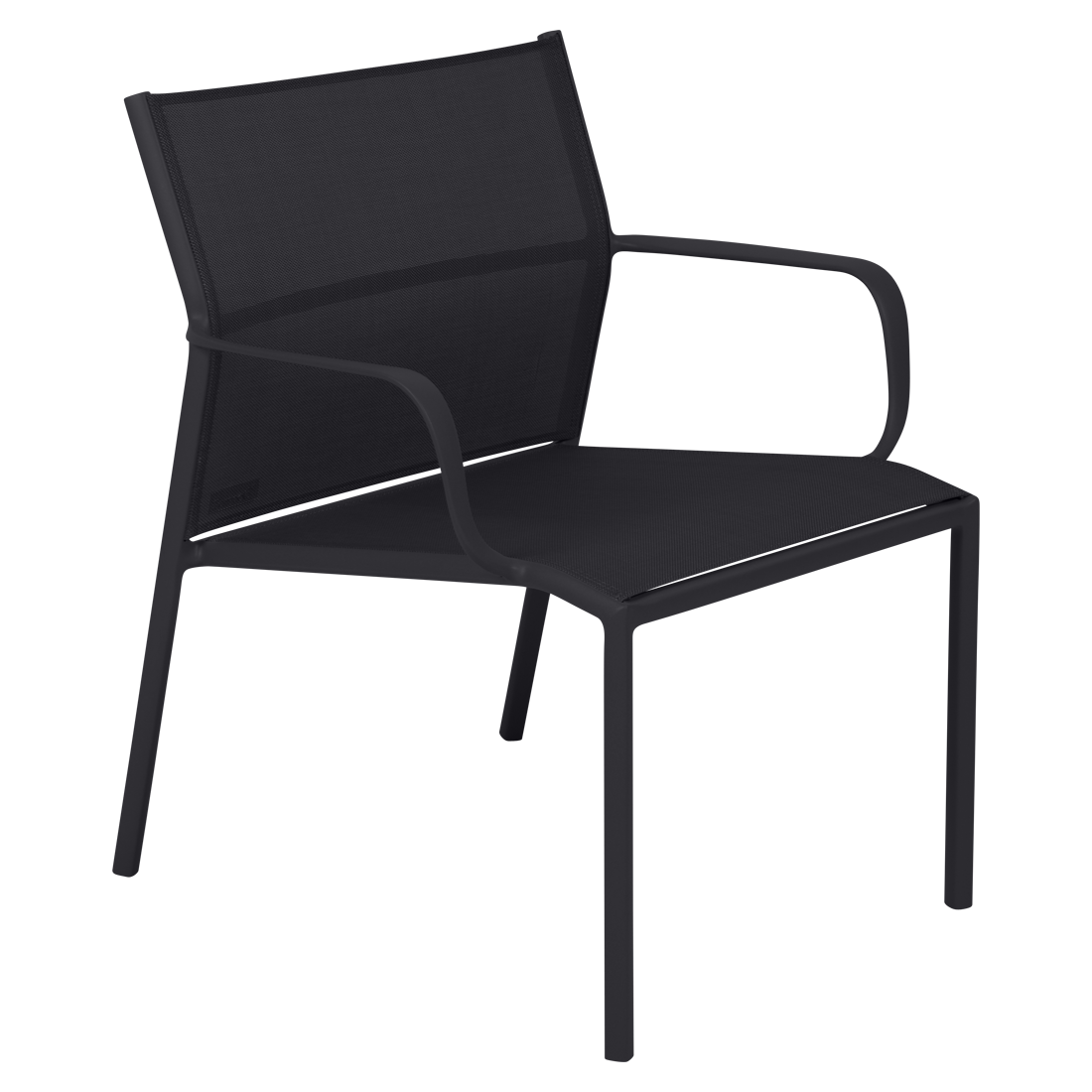 fauteuil bas cadiz fauteuil de jardin en toile. Black Bedroom Furniture Sets. Home Design Ideas