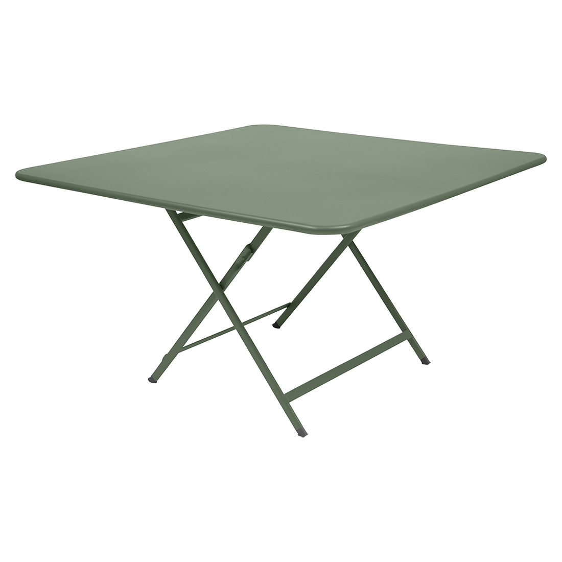 table de jardin carrée en métal