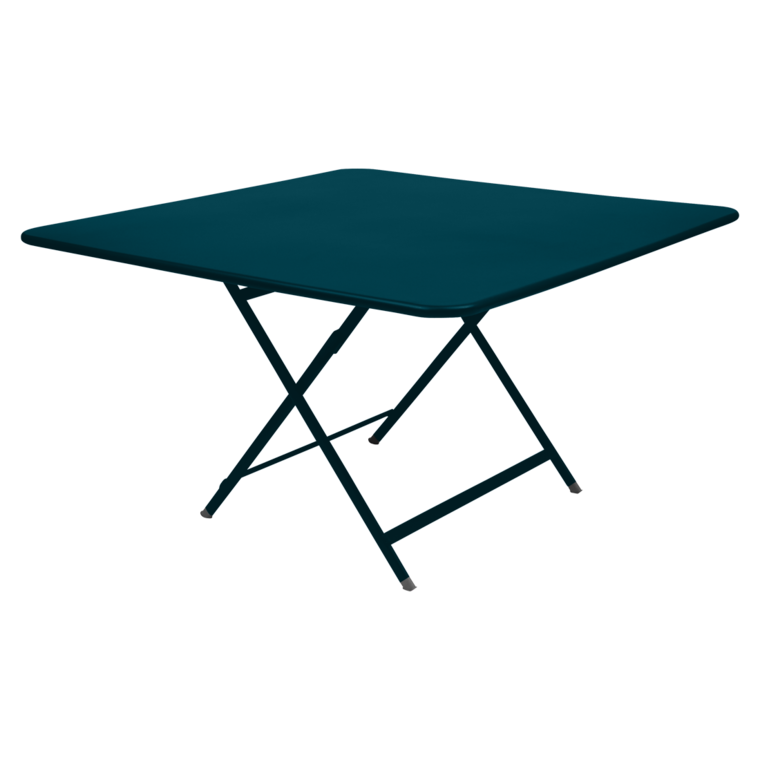 Caractère square table, garden table for 8, outdoor furniture