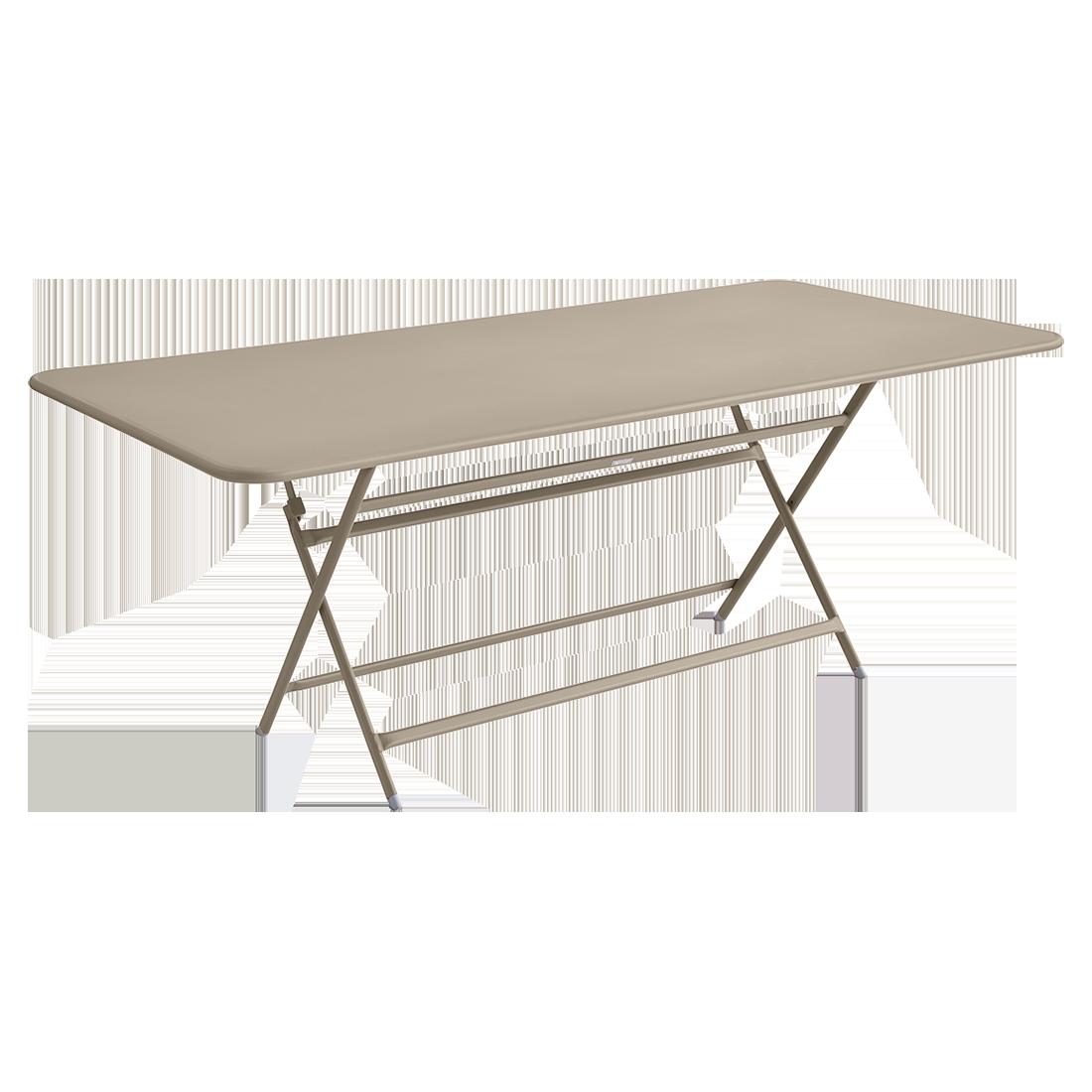 table de jardin beige