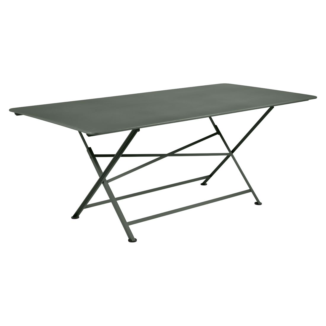 table de jardin, table metal, table de jardin pliante, table metal pliante, table fermob vert