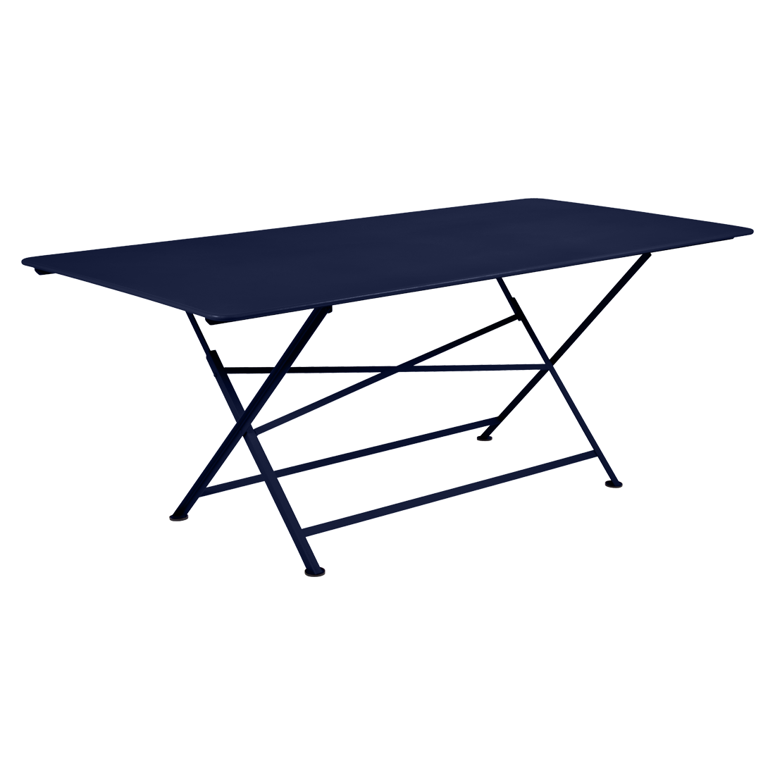 table de jardin, table metal, table de jardin pliante, table metal pliante, table fermob bleu