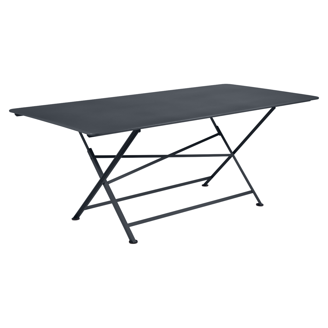table de jardin, table metal, table de jardin pliante, table metal pliante, table fermob noir