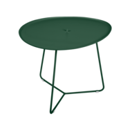 table basse metal, table basse fermob, table basse de jardin, table basse vert