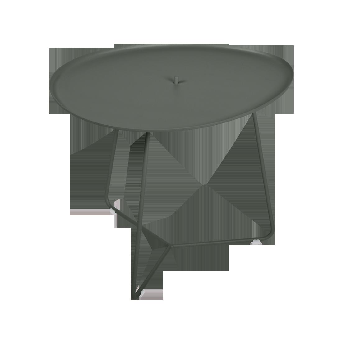 table basse metal, table basse fermob, table basse de jardin, table basse vert