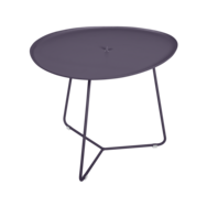 table basse metal, table basse fermob, table basse de jardin, table basse violet