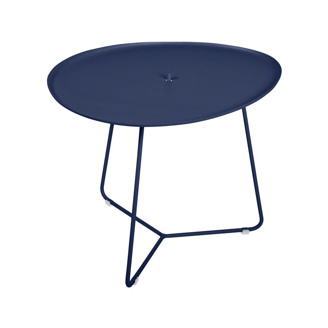 table basse metal, table basse fermob, table basse de jardin, table basse bleu