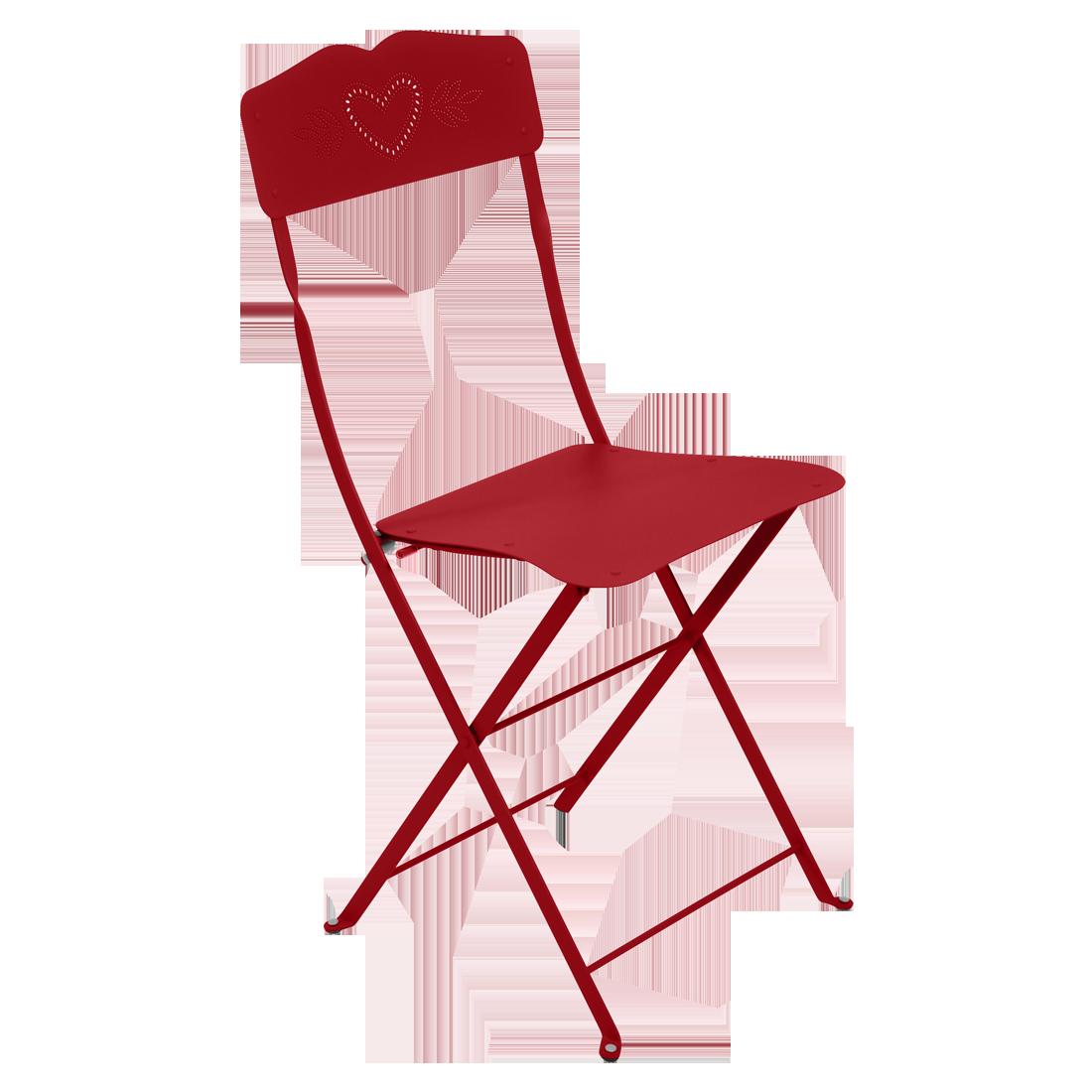 chaise metal pliante