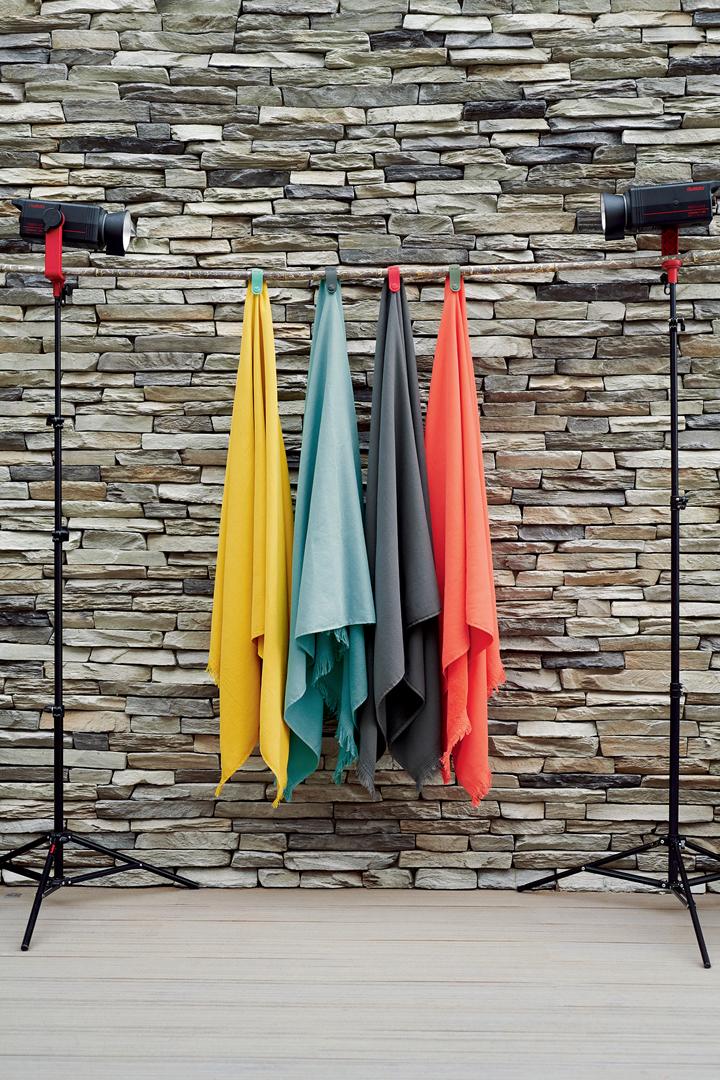 serviette de bain, serviette fermob, serviette eponge, accessoires fermob