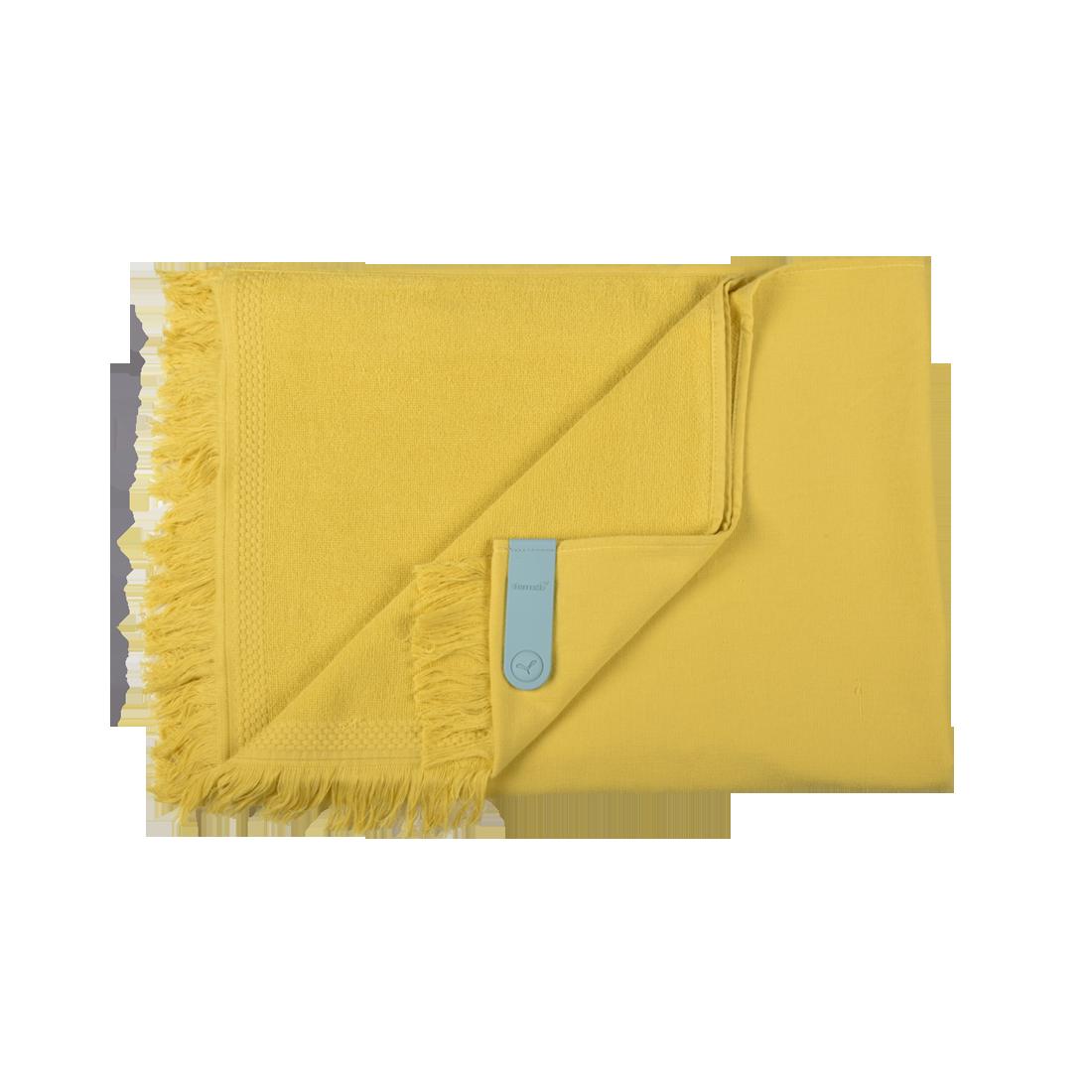 fouta, serviette de plage, fouta fermob, serviette fermob, fouta jaune