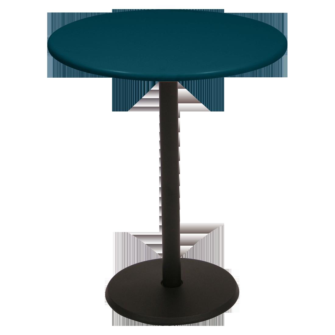 Table Ø 60 cm concorde bleu acapulco