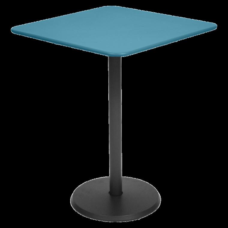 Table 57x57 cm Concorde, petite table de jardin carrée