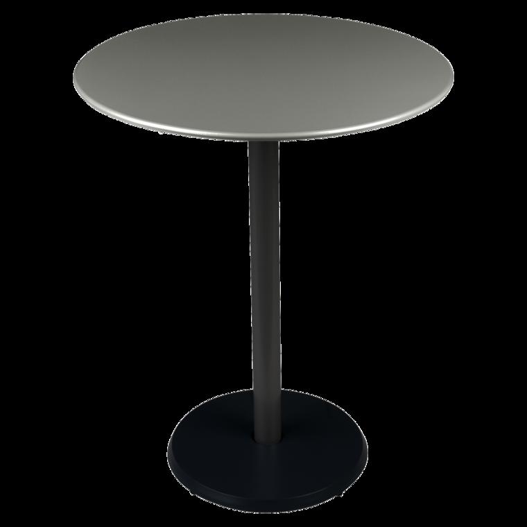 Table ronde 60 cm concorde petite table de jardin gu ridon for Petite table de jardin metallique