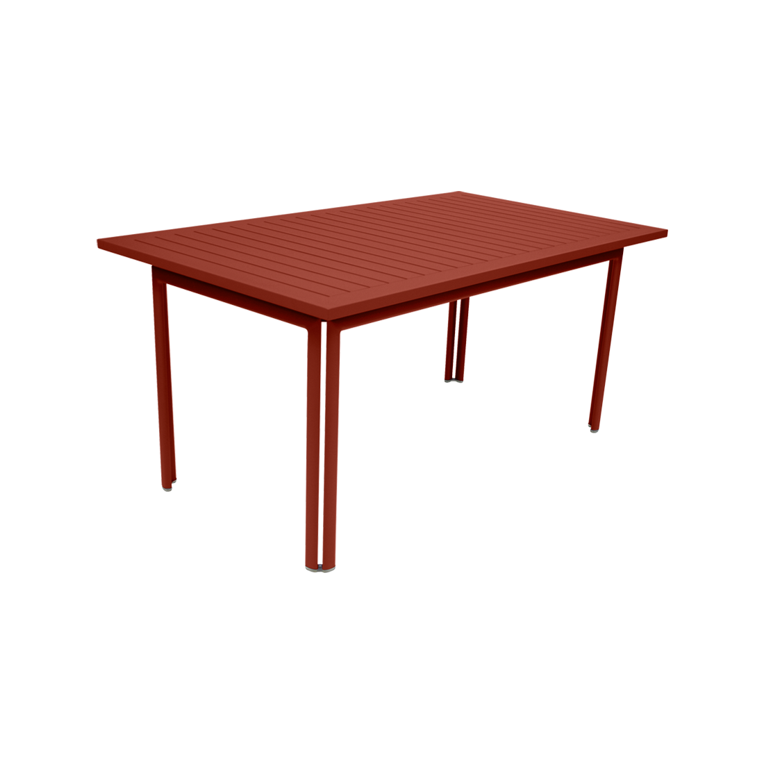 Table 160 x 80 cm costa ocre rouge