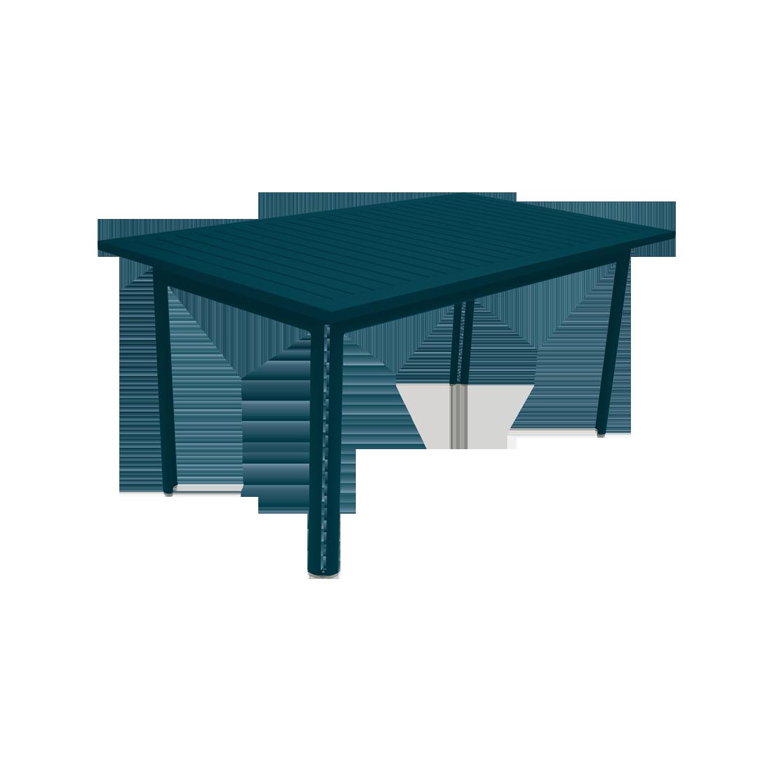 Table 160 x 80 cm costa bleu acapulco