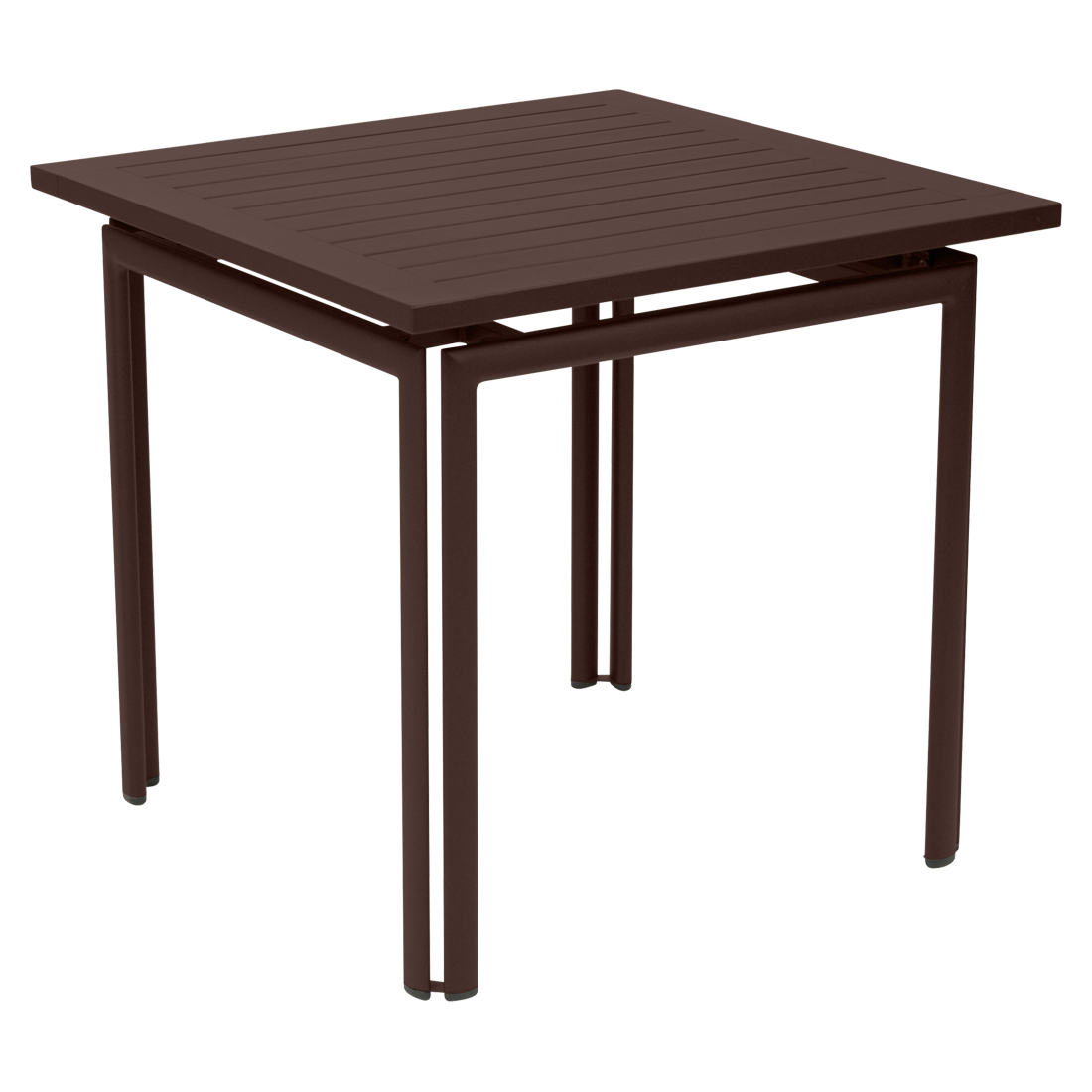 costa 80x80 cm table, garden metal table for 4