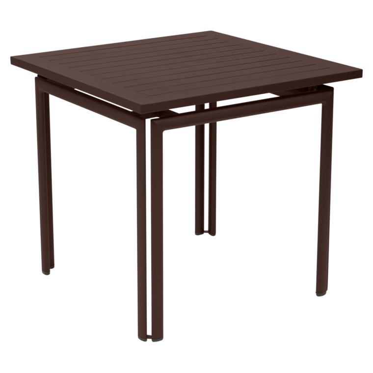 table costa 80x80 cm table de jardin table jardin 4 places